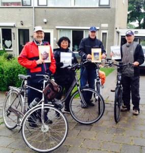 Henk, Silvy, Toon en Piet